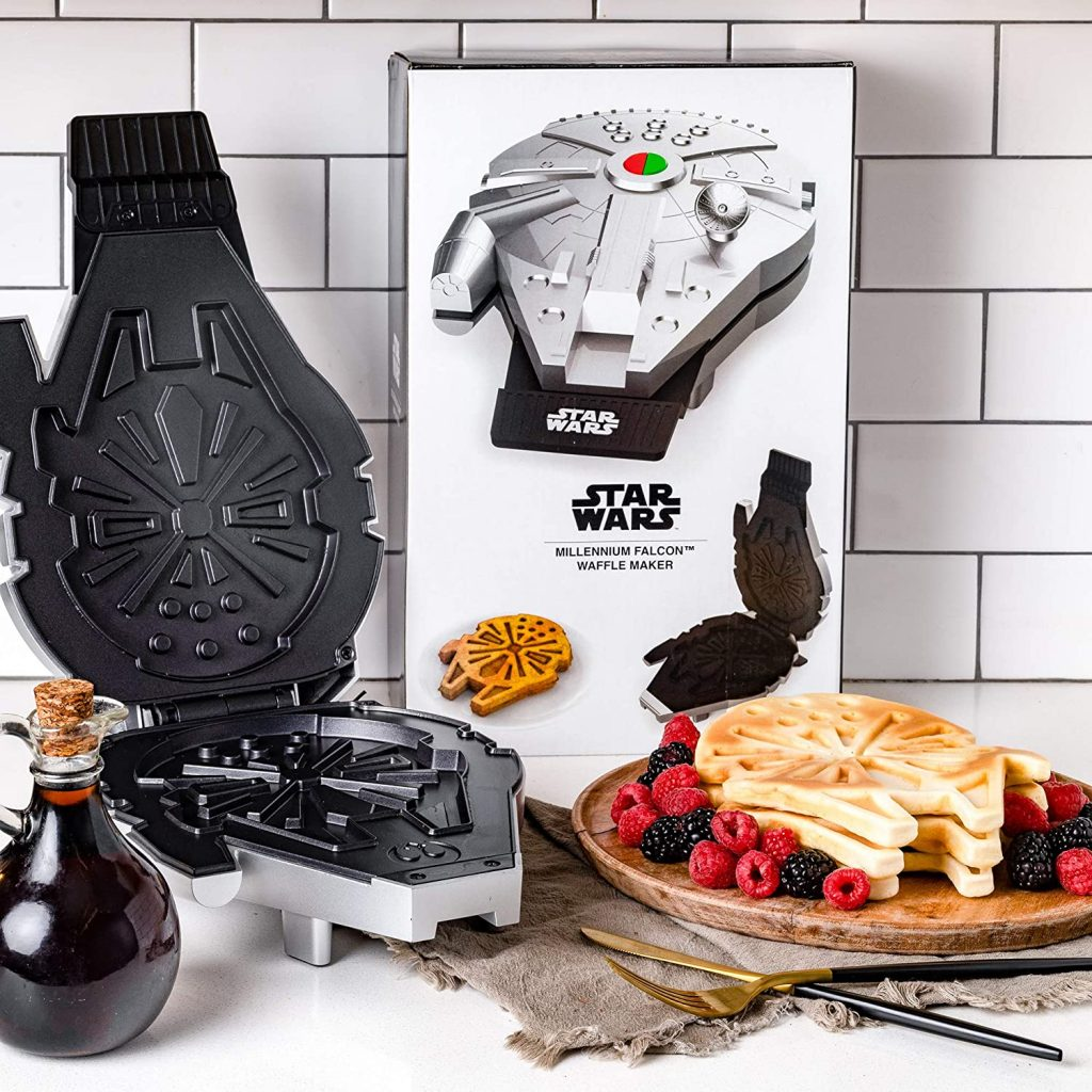 Star Wars Deluxe Millennium Falcon Waffle Maker father's day gifts