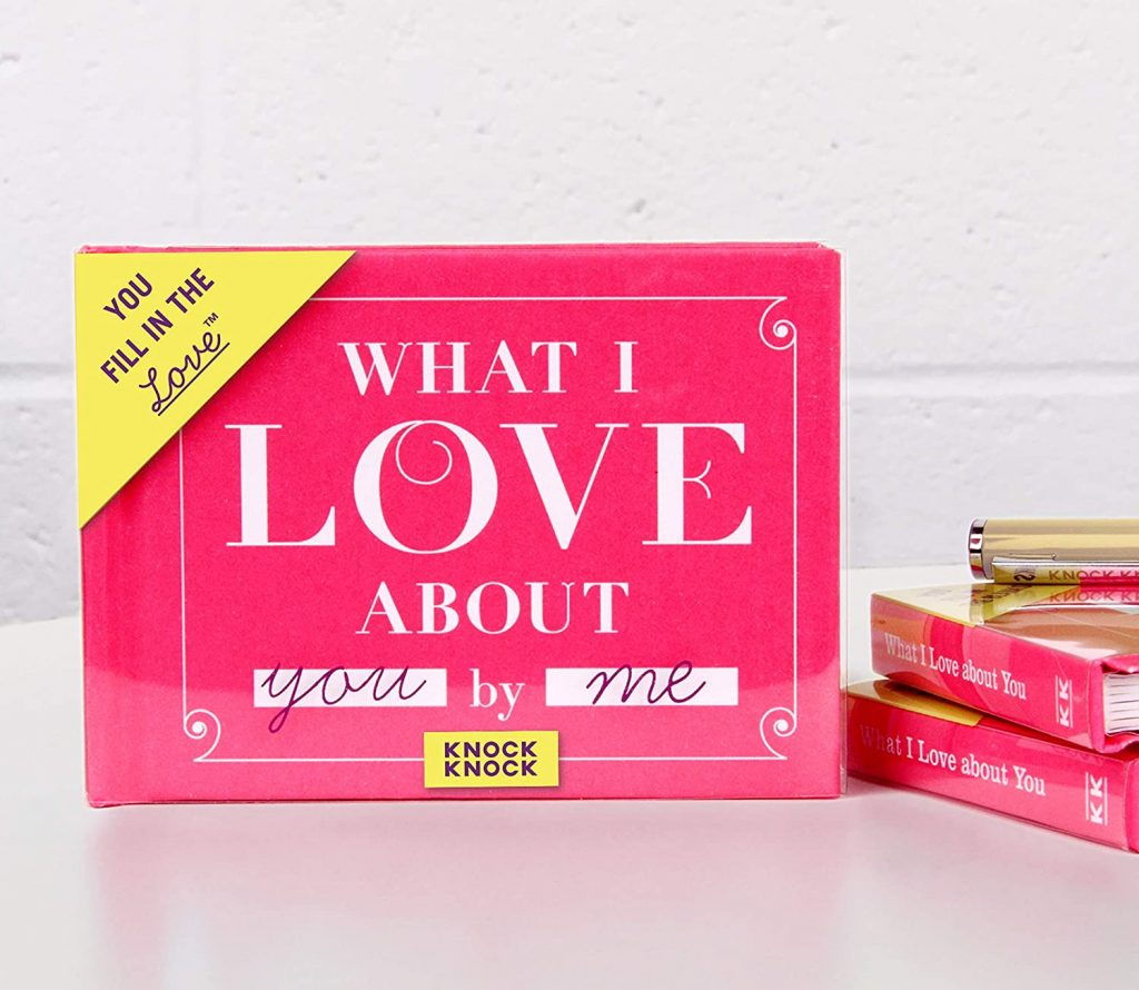 What I Love about You Fill in the Love Book best mothers day gifts 2021