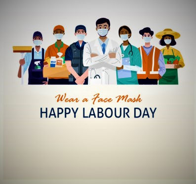 labour day card 2021