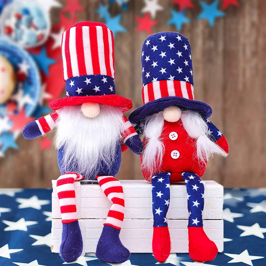 Faceless Doll Gnomes Couple memorial day gifts