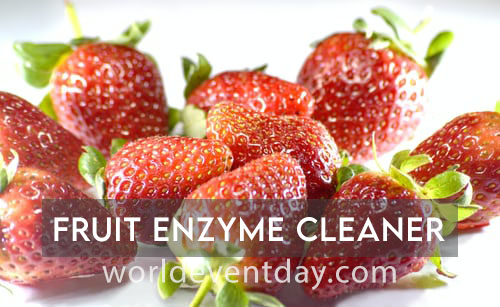 Fruit enzyme cleaner