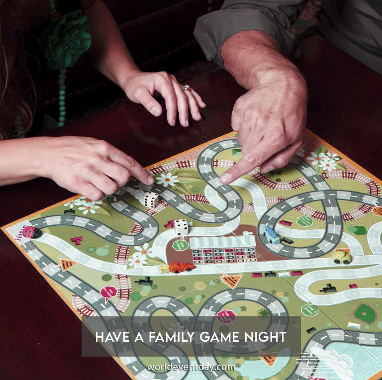 Have a family game night
