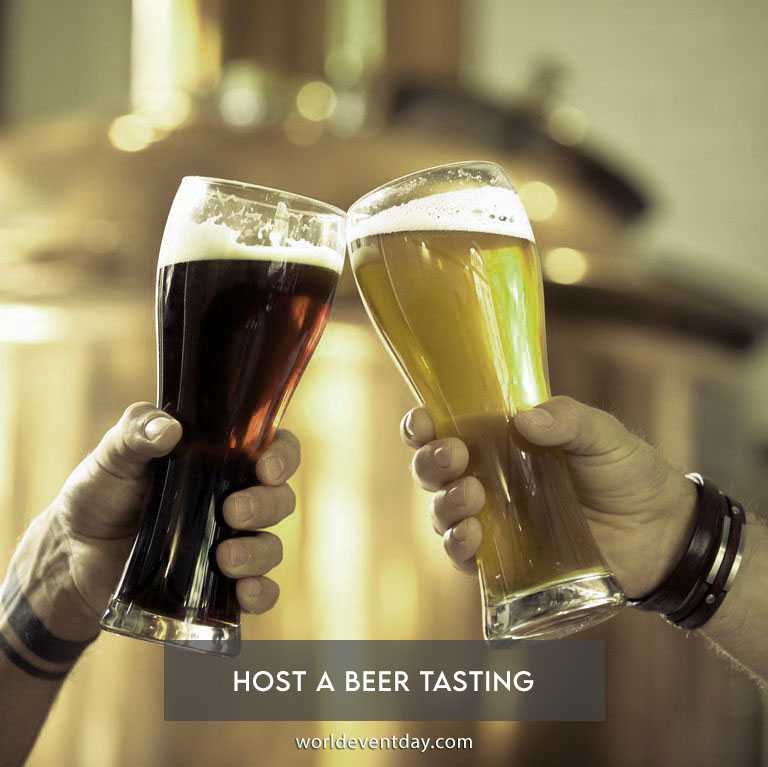 Host a beer tasting