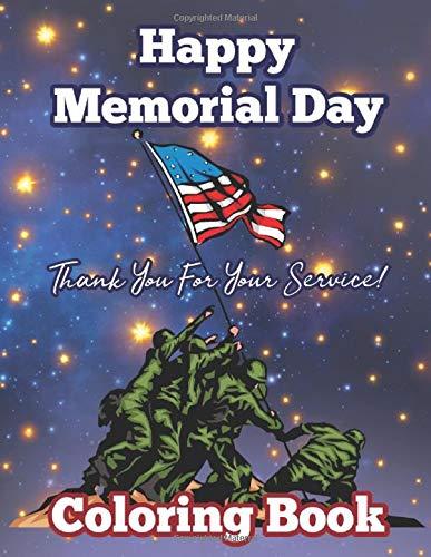 Memorial Day Coloring Book memorial day gifts