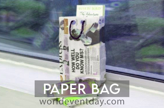 Paper bag 10 eco friendly activities for environment day