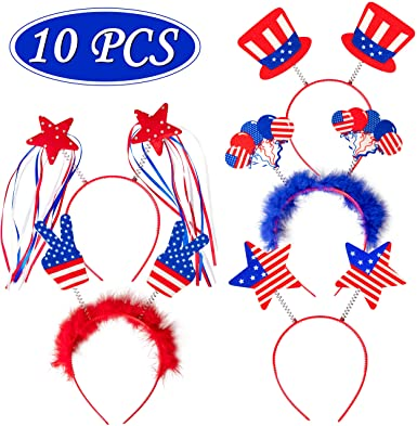 Patriotic Head Boppers Headband memorial day gifts 2021