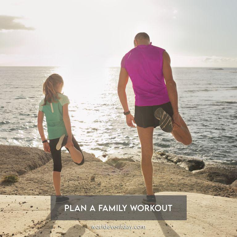 Plan a family workout