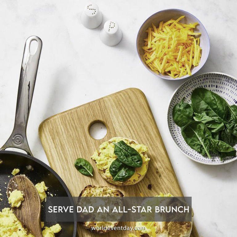 Serve dad an all-star brunch