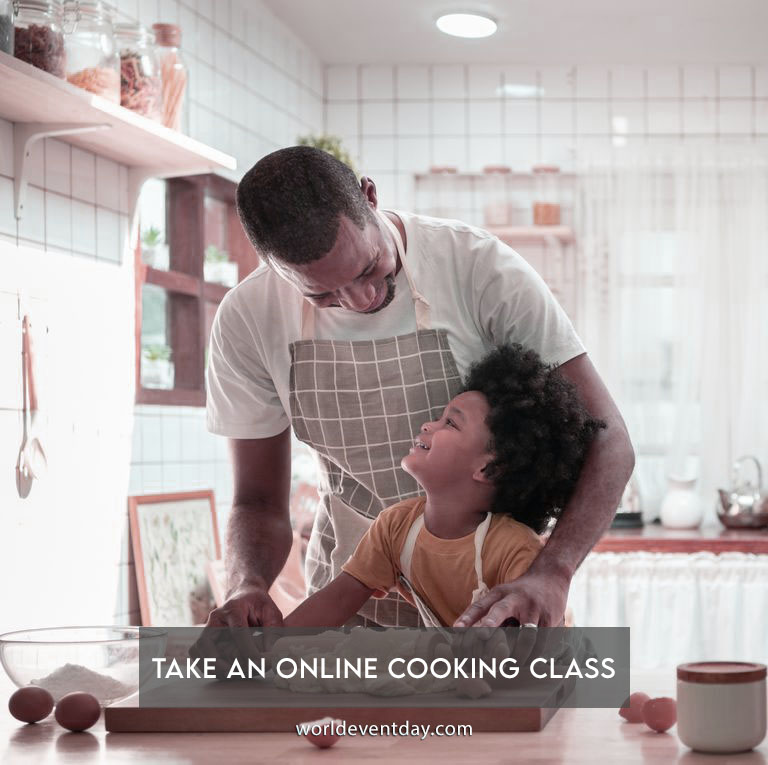 Take an online cooking class
