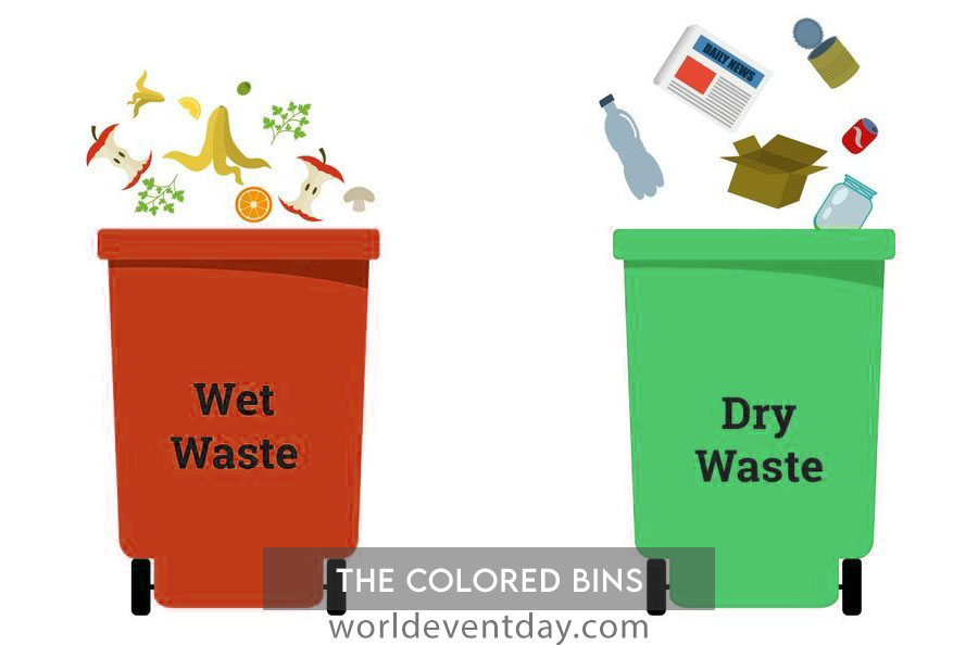The coloured bins 10 eco friendly activities for environment day