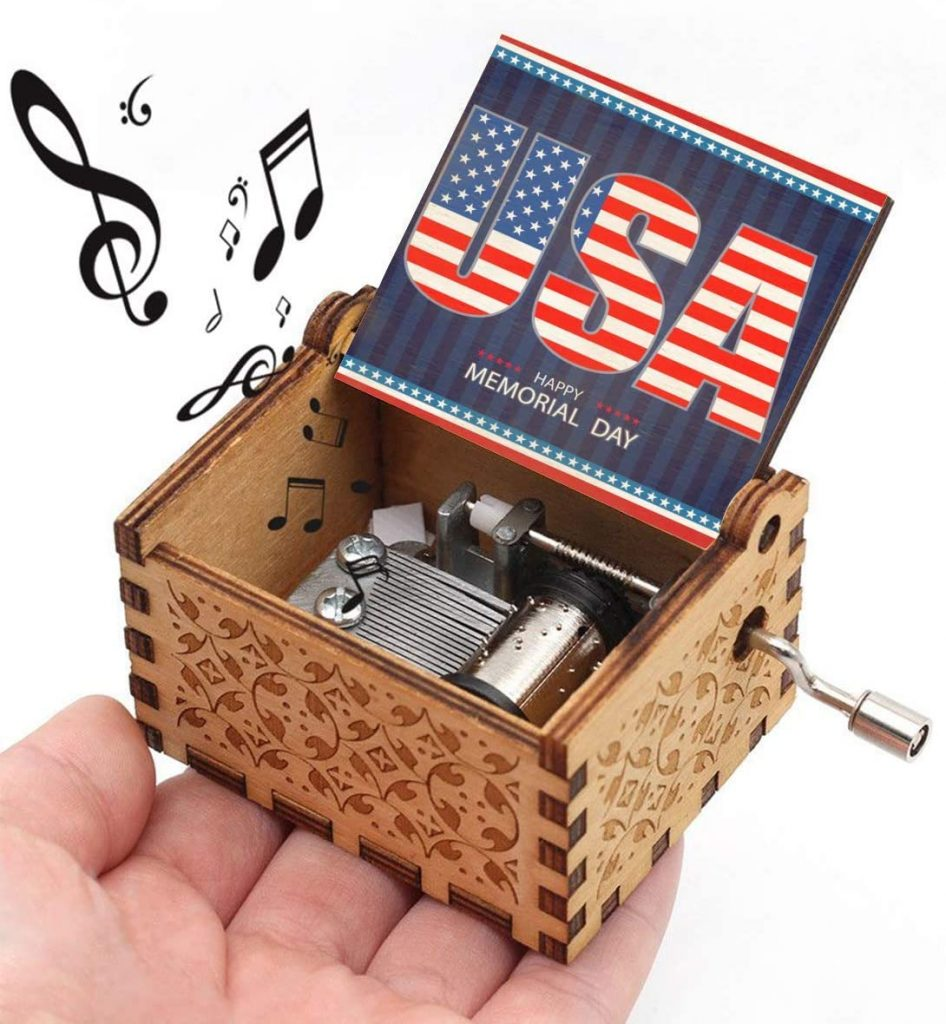Tiny Music Box memorial day gifts For Kids