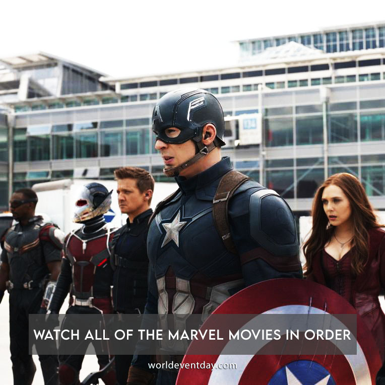 Watch all of the Marvel movies in order