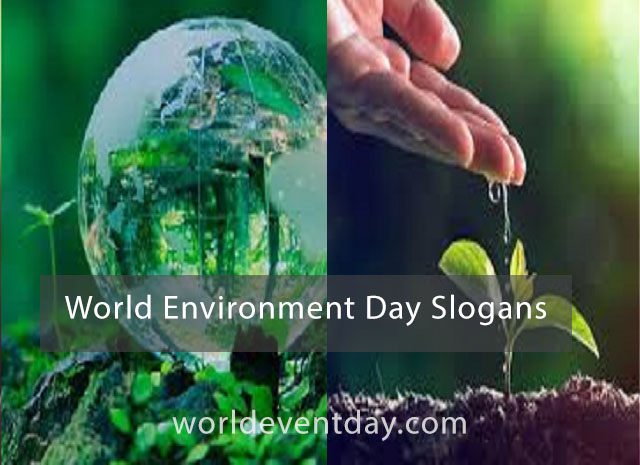 World Environment Day Slogans