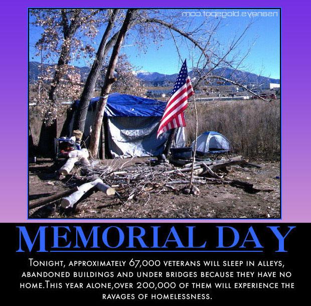 camping memorial day meme