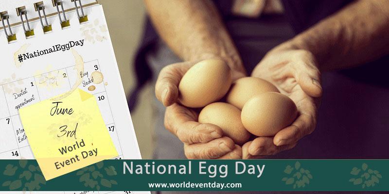national egg day 3rd June