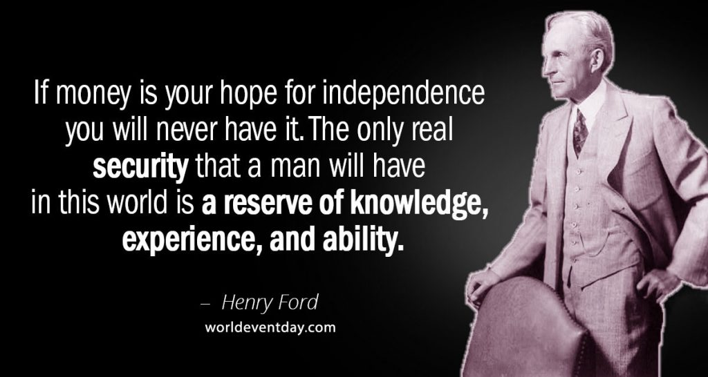 4th Of July Quotes by Henry Ford