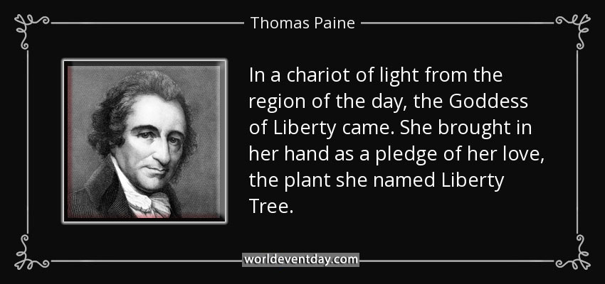 4th Of July Quotes by Thomas Paine