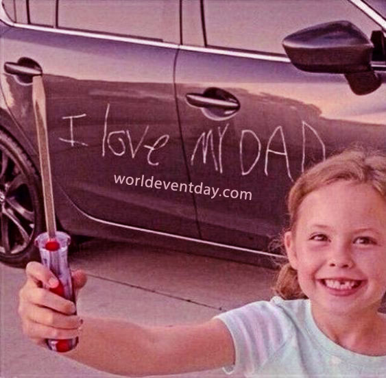 A Girl Who Really Loves Her Dad meme