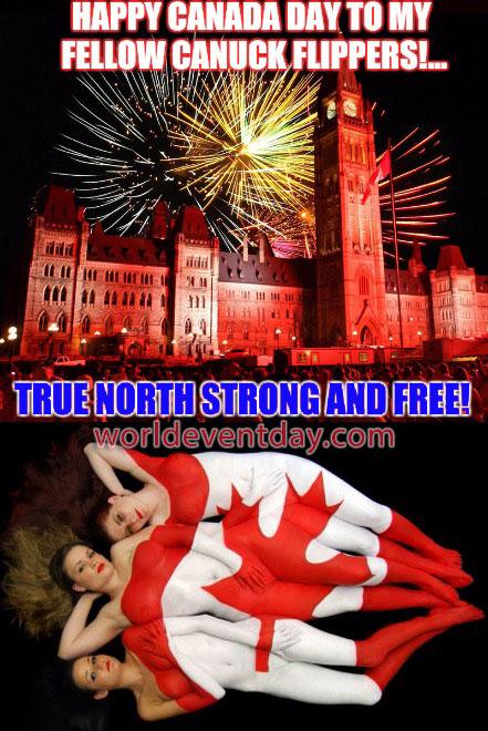Canada Day meme awe
