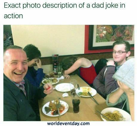 Dad Joke Reactions meme