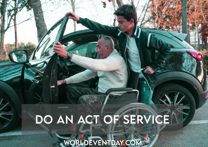 Do an act of service