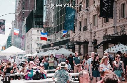 Fun on Bastille day NYC