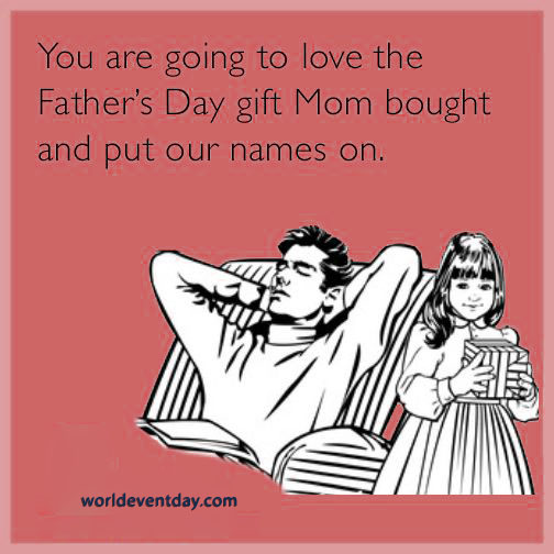 Gift-Giving 101 funny meme on fathers day