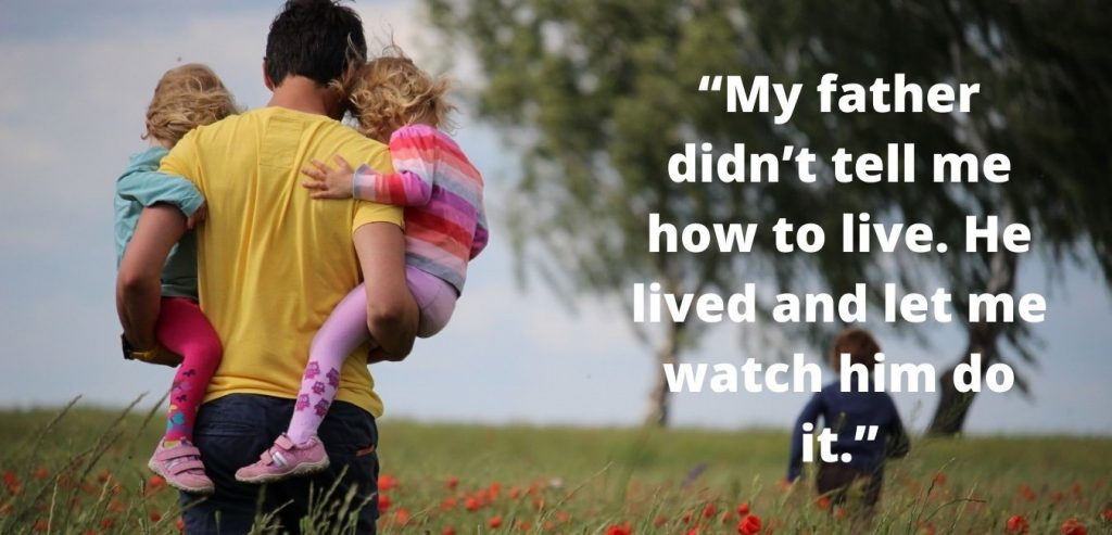 Humorous and Endearing father's day charges quotes