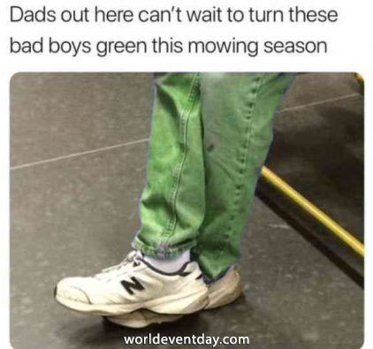 THE Sneakers fathers day meme