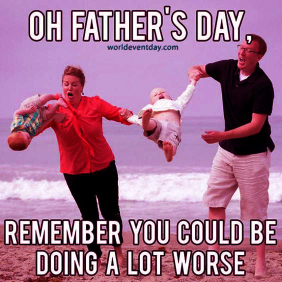 The World's Best Dad meme on fathers day