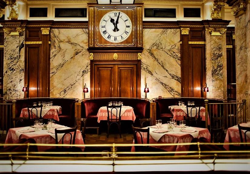 Brasserie Zédel bastille day London hotel