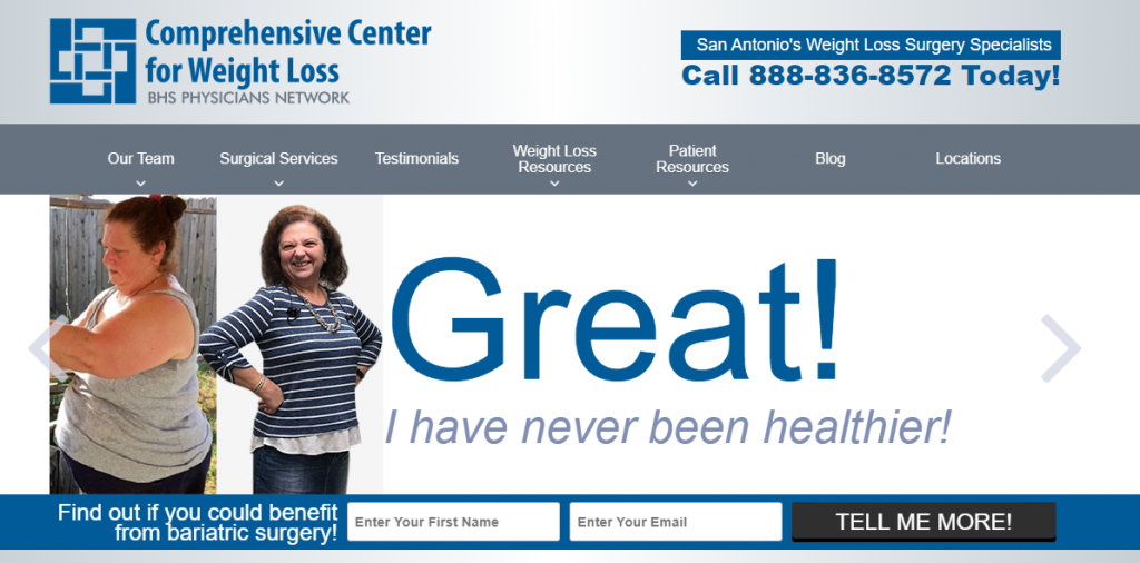 The Comprehensive Center for Weight Loss