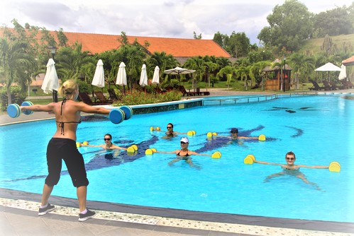water aerobics for weight loss