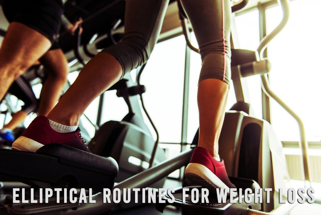 elliptical routines workout for weight loss