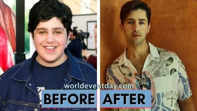 josh peck weight loss before and after