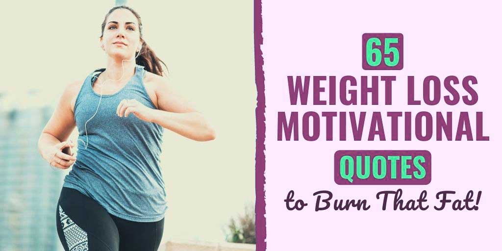 quote about losing weight