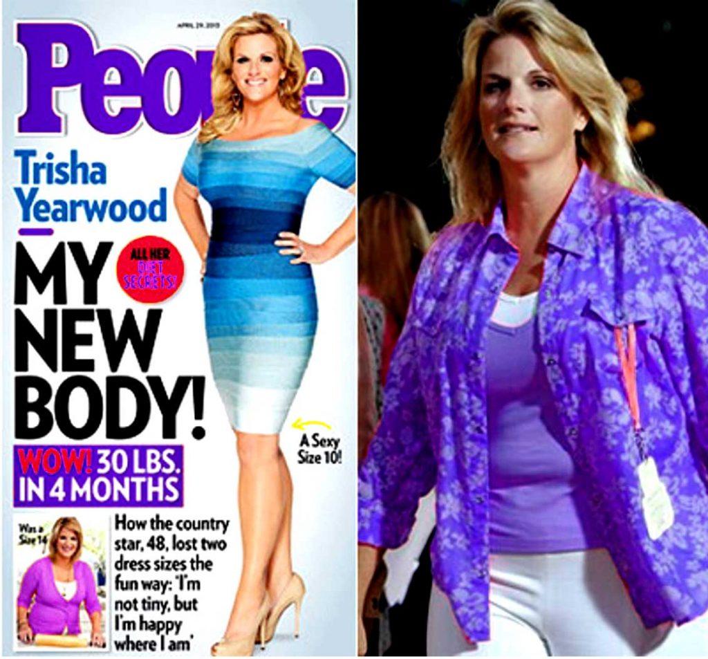 trisha yearwood weight loss