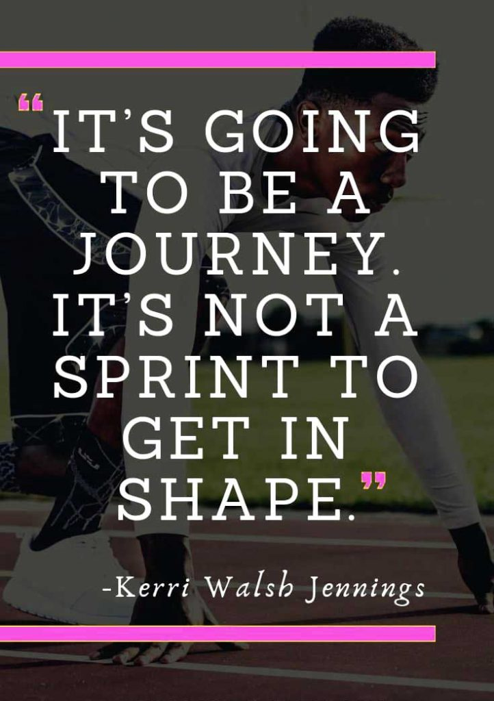 weight loss quotes sprint to shape
